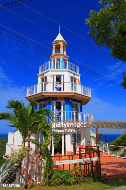 Honduras, Islas de la Bahia, Roatan Island. Mirador El faro