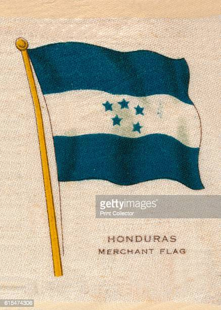 Honduras Merchant Flag' c1910 Artist Unknown