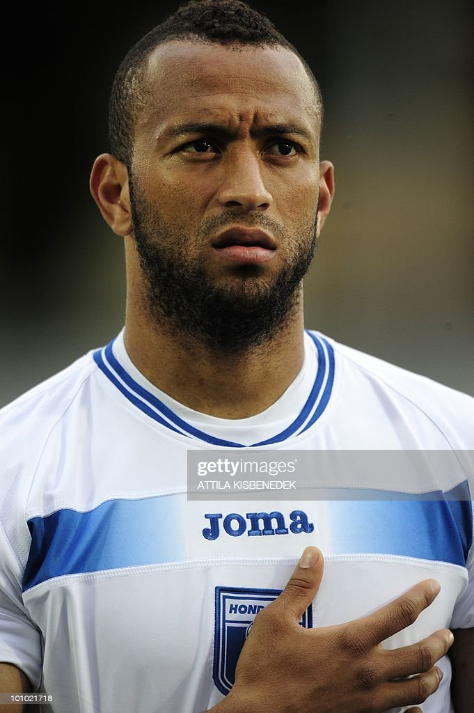 Honduras' Victor Bernardez is seen prior to their friendly match against Belorussia in the local stadium of Villach, on May 27, 2010 prior to the FIFA World Cup 2010 hosted by Africa between June 11 and July 11. The match ended with 2-2 equal.