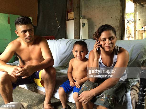 EL PROGRESO HONDURASEdgardo Rodriguez and his wife Maby sit with their son Moises