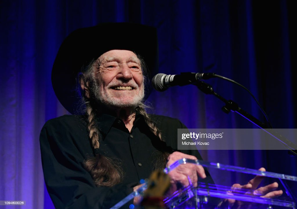 61st Annual GRAMMY Awards - Producers & Engineers Wing 12th Annual GRAMMY Week Event Honoring Willie Nelson : News Photo