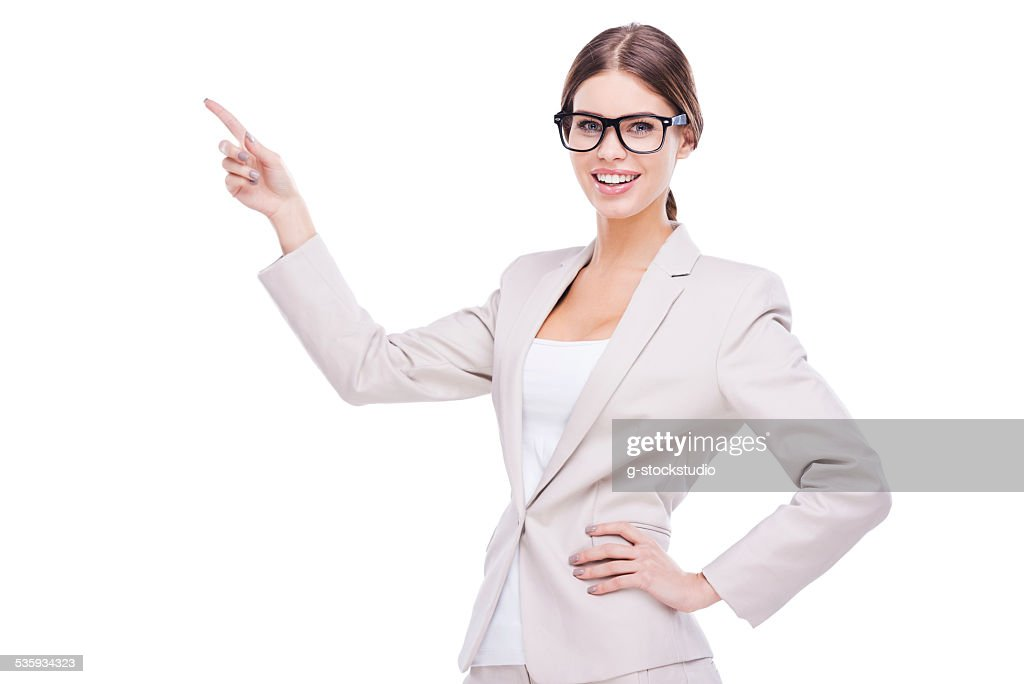 Honest and reliable face to boost your brand. : Stock Photo