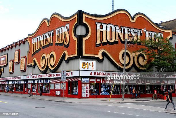 Honest Ed's Landmark Discount Store on Bloor Street on Toronto