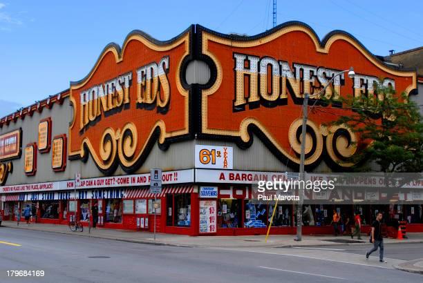 Honest Ed's on Bloor Street Toronto