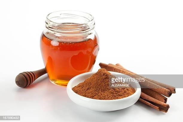 miel y canela - canelo fotografías e imágenes de stock