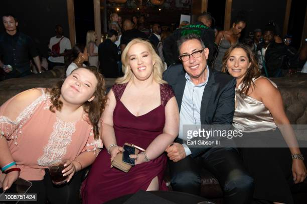 Honey Boo Boo Mama June Marc Juris and guest attend Bossip Best Dressed List Event on July 31 2018 in Los Angeles California