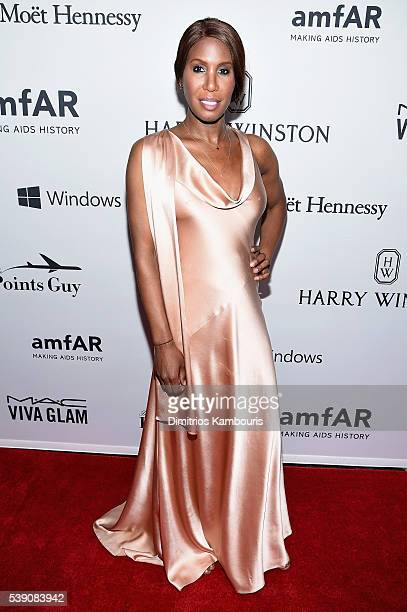 J Honey Dijon attends the 7th Annual amfAR Inspiration Gala at Skylight at Moynihan Station on June 9 2016 in New York City