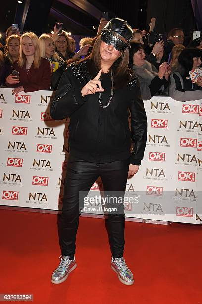 Honey G attends the National Television Awards at Cineworld 02 Arena on January 25 2017 in London England