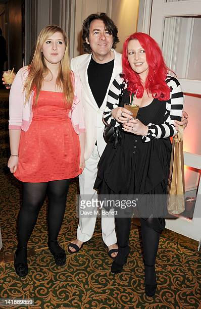 Honey Kinney Jonathan Ross and Jane Goldman arrive at the Jameson Empire Awards at Grosvenor House on March 25 2012 in London England