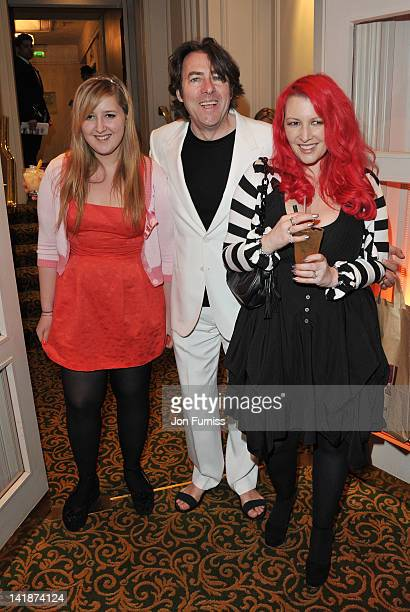Honey Kinney Jonathan Ross and Jane Goldman attend the Jameson Empire Awards 2012 at Grosvenor House on March 25 2012 in London England