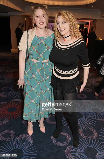 Honey Kinney Ross and Jane Goldman attend the Jameson Empire Awards 2015 at Grosvenor House on March 29, 2015 in London, England.