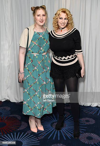 Honey Kinney Ross and Jane Goldman attend the Jameson Empire Awards 2015 at Grosvenor House Hotel on March 29, 2015 in London, England.