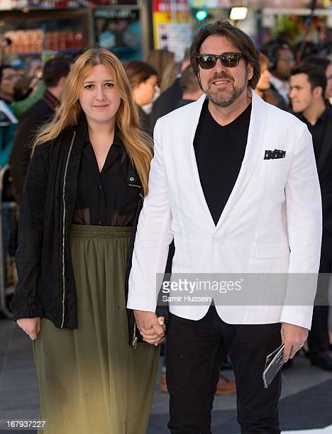 Honey Kinney Ross and Jonathan Ross attend the UK Premiere of 'Star Trek Into Darkness' at The Empire Cinema on May 2 2013 in London England