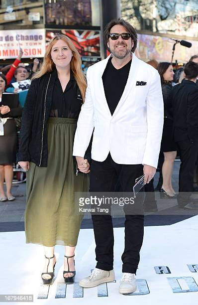 Honey Kinney Ross and Jonathan Ross attends the UK Premiere of 'Star Trek Into Darkness' at The Empire Cinema on May 2, 2013 in London, England.
