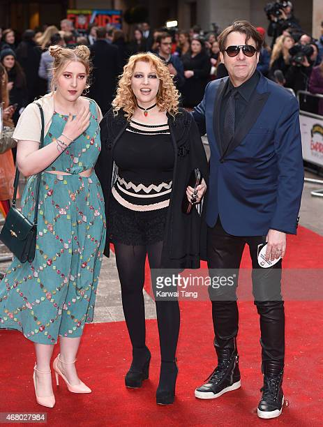 Honey Kinney Ross, Jane Goldman and Jonathan Ross attend the Jameson Empire Awards 2015 at Grosvenor House, on March 29, 2015 in London, England.