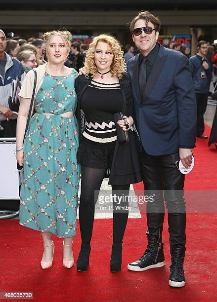 Honey Kinney Ross Jane Goldman and Jonathan Ross attend the Jameson Empire Awards 2015 at Grosvenor House Hotel on March 29 2015 in London England