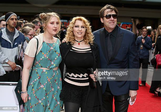 Honey Kinney Ross, Jane Goldman and Jonathan Ross attend the Jameson Empire Awards 2015 at Grosvenor House Hotel on March 29, 2015 in London, England.
