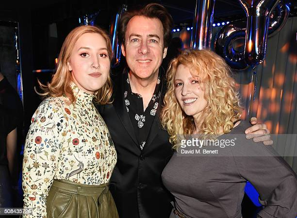 Honey Kinney Ross Jonathan Ross and Jane Goldman attend the InStyle EE Rising Star party ahead of the EE BAFTA Awards at 100 Wardour St on February 4...