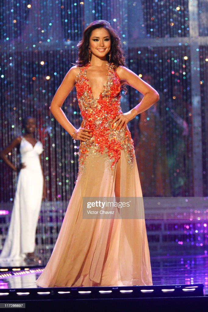 Honey Lee, Miss Universe Korea 2007 during Miss Universe 2007 - Show at Auditorio Nacional in Mexico City, Mexico City, Mexico.