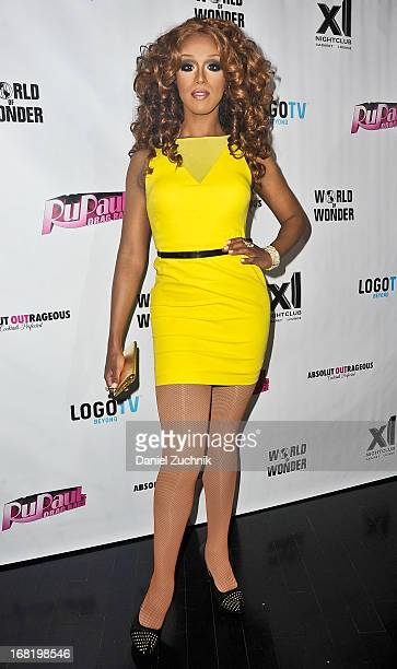 Honey Mahogany attends 'RuPaul's Drag Race' Season 5 Finale Party at XL Cabaret on May 6 2013 in New York City