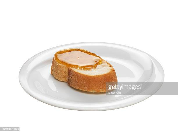Honey On The Bread (Clipping Path)