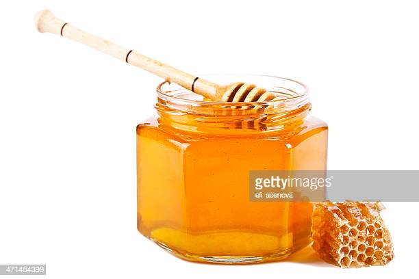 honey - jar stock pictures, royalty-free photos & images