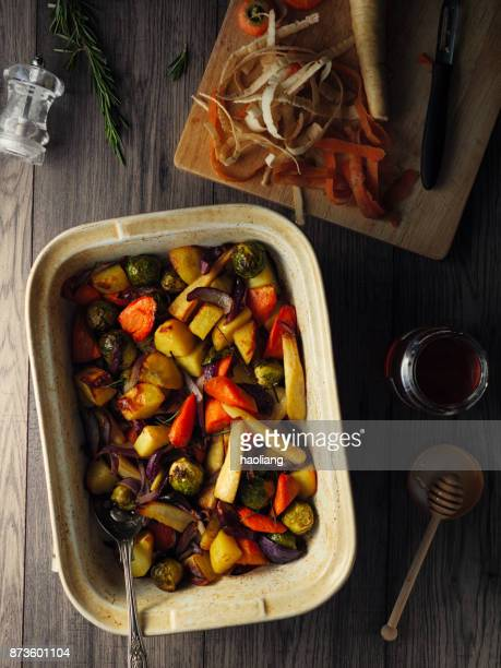 Honey roasted vegetable