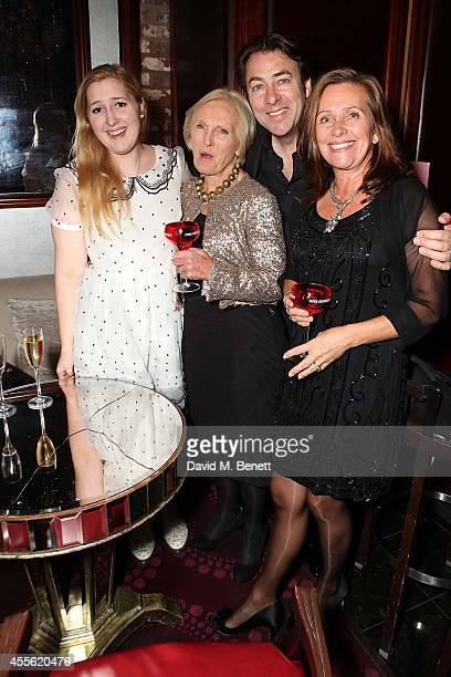 "Honey Ross, Mary Berry, Jonathan Ross and Sarah Hunnings attend a charity preview screening of ""Downton Abbey"" at the Empire Leicester Square on..."