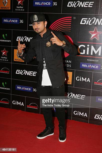 Honey Singh during the Star GiMA Awards in Mumbai