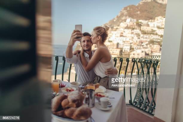 新婚旅行 Selfie