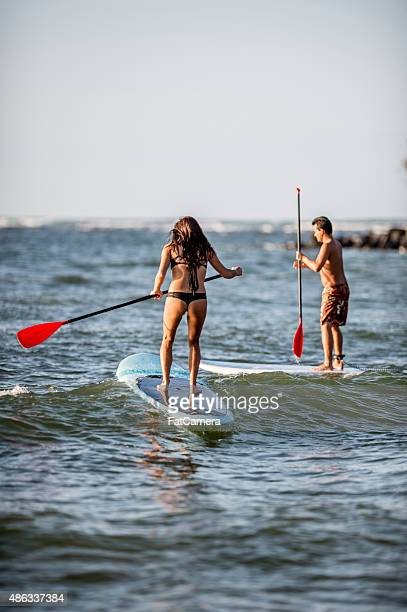 Honeymoon Stand Up Paddle Boarding