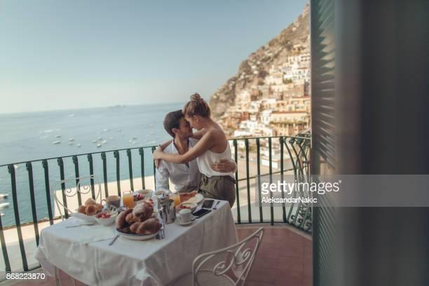 Honeymooners in Italy