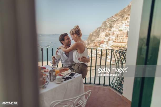 Honeymooners in Italy