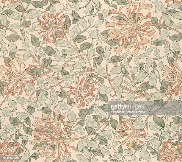Honeysuckle Wallpaper by William Morris