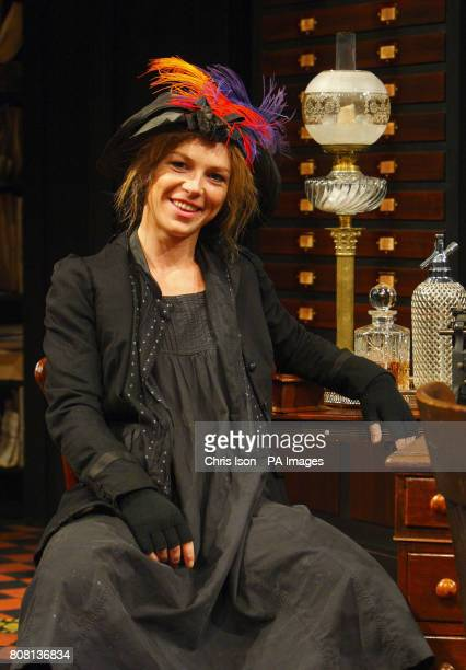 Honeysuckle Weeks as Liza Doolittle in George Bernard Shaw's Pygmalion at the Festival Theatre in Chichester West Sussex where she stars alongside...