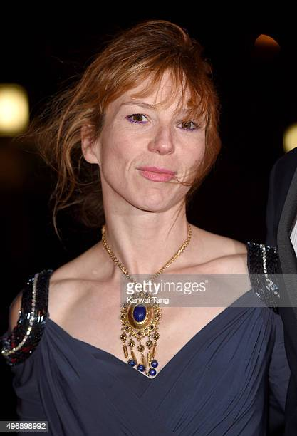 Honeysuckle Weeks attends the Park Theatre Annual Gala Dinner at Stoke Newington Town Hall on November 12 2015 in London England