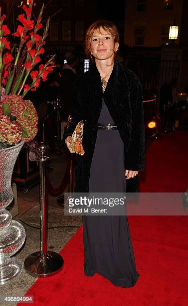 Honeysuckle Weeks attends the Park Theatre Gala 2015 at Stoke Newington Town Hall on November 12 2015 in London England