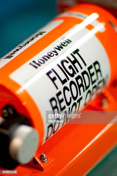 Honeywell International Inc commercial flight data recorder or 'black box' is arranged for a photo in Washington DC US on Friday June 5 2009...