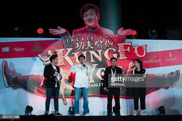 Hong actor and director, Jackie Chan at the launch for film KUNG FU YOGA at Bangkok, Thailand, on January 22, 2017.