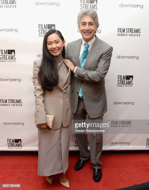Hong Chau and Alexander Payne attend the 'Downsizing' special screening at Dundee Theater on December 15 2017 in Omaha United States