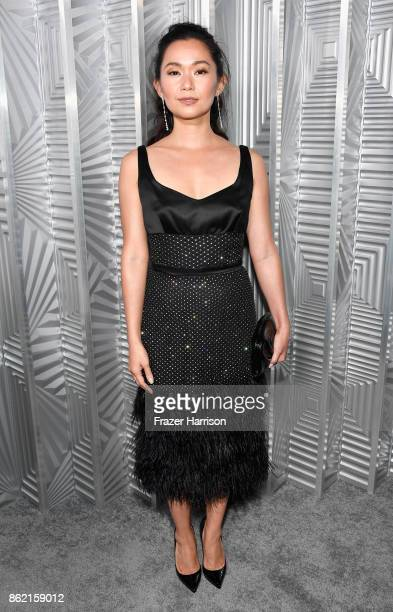 Hong Chau attends ELLE's 24th Annual Women in Hollywood Celebration presented by L'Oreal Paris Real Is Rare Real Is A Diamond and CALVIN KLEIN at...