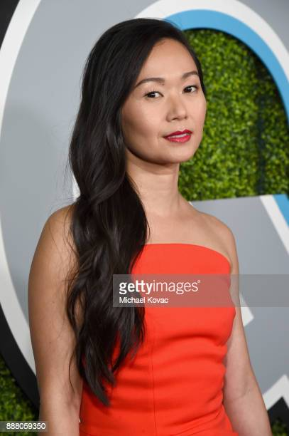 Hong Chau attends the 2017 GQ Men of the Year party at Chateau Marmont on December 7 2017 in Los Angeles California