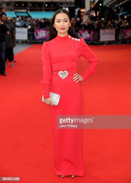Hong Chau attends the BFI Patron's Gala and UK Premiere of 'Downsizing' during the 61st BFI London Film Festival at the Odeon Leicester Square on...