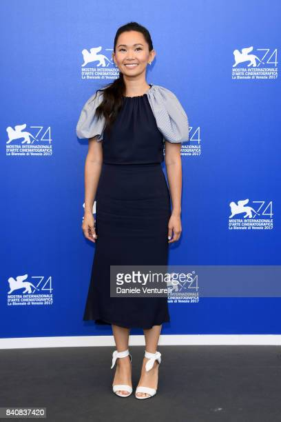 Hong Chau attends the 'Downsizing' photocall during the 74th Venice Film Festival on August 30 2017 in Venice Italy