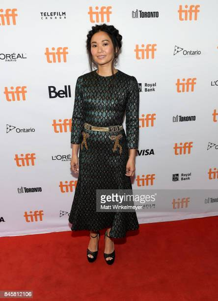 Hong Chau attends the 'Downsizing' special presentation screening during the 2017 Toronto International Film Festival at The Elgin on September 11...