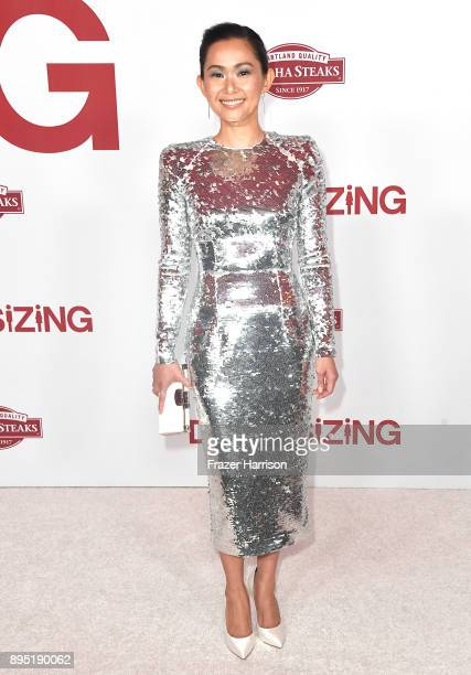 Hong Chau attends the Los Angeles Special Screening of 'Downsizing' at The Regency Village Theatre onDecember 18 2017 in Westwood CA