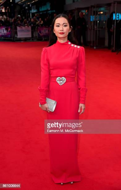 Hong Chau attends the UK premiere of 'Downsizing' the BFI Patron's Gala during the London Film Festival on October 13 2017 in London England