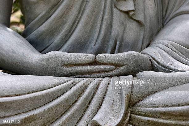 Hong Hien Tu temple Buddha statue Siddhartha Gautama