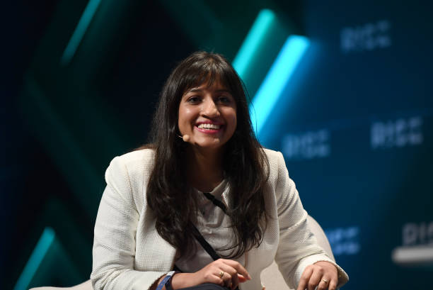 Hong Kong - 11 July 2019; Divya Gokulnath, Co-founder, BYJU'S, on SaaS Monster Stage during day three of RISE 2019 at the Hong Kong Convention and...