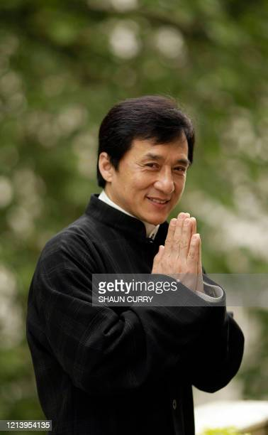 Hong Kong action hero Jackie Chan attends a press conference in central London, on May 23, 2008. Jackie Chan said Friday he wanted to make a film...
